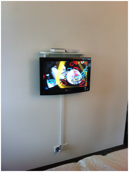 Supports muraux pour t l viseur installations satellite r glages tv r para - Support mural tv avec tablette ...